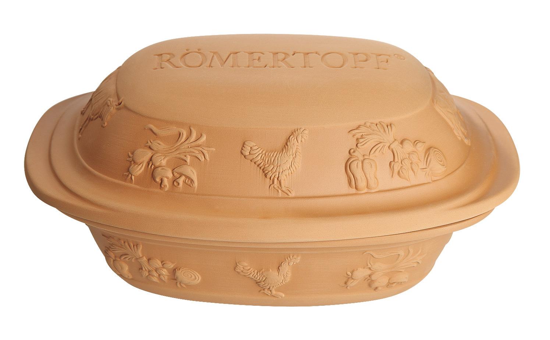 Roman Pot Bread Crock Bread Bin Medium Round White 23 cm